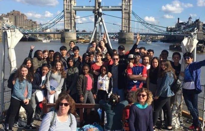 BSG students visit London