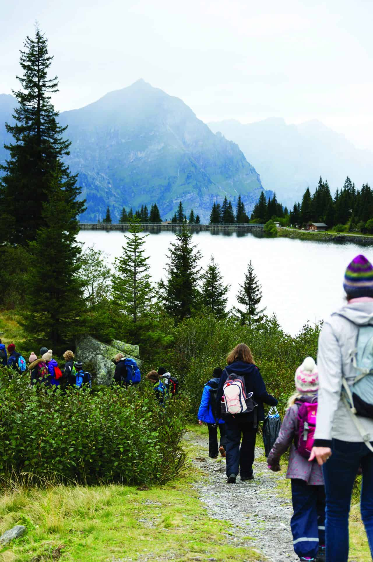 Language Immersion in the Swiss Alps