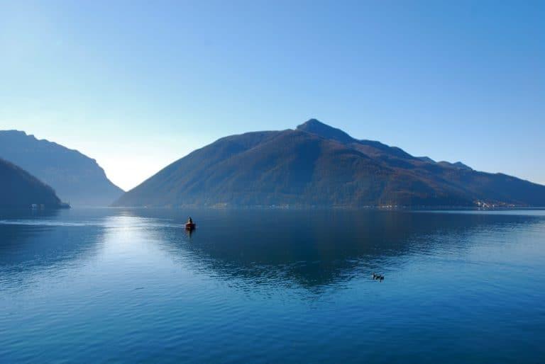 Monte San Giorgio UNESCO World Heritage site in Switzerland