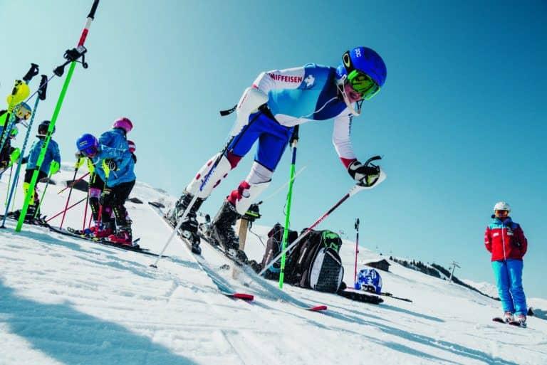 Swiss family skiing holidays