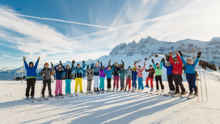 Winter Activity Camps in Switzerland