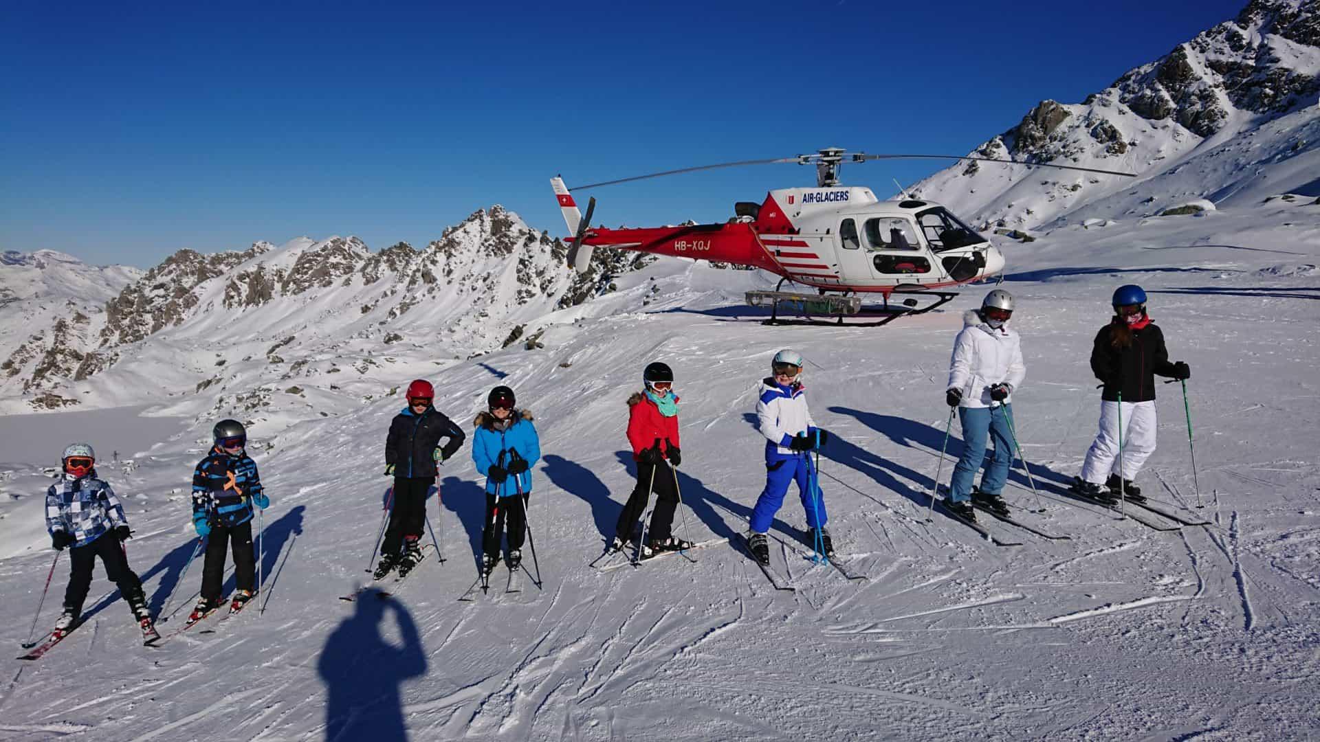 International Winter Camps in Switzerland