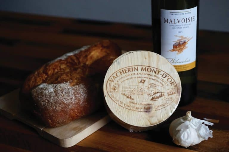 Vacherin Mont d'Or swiss recipe