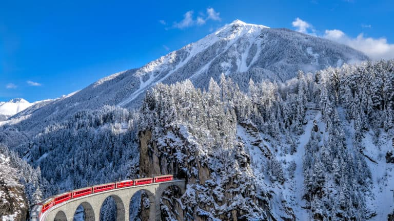 Glacier Express – The slowest express train in the world