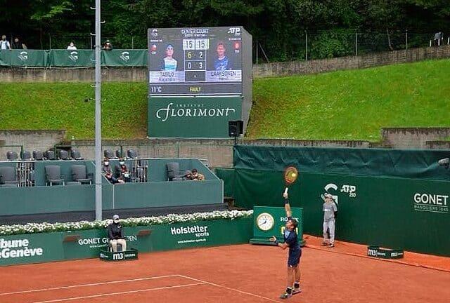 Florimont and the Gonet Geneva Open